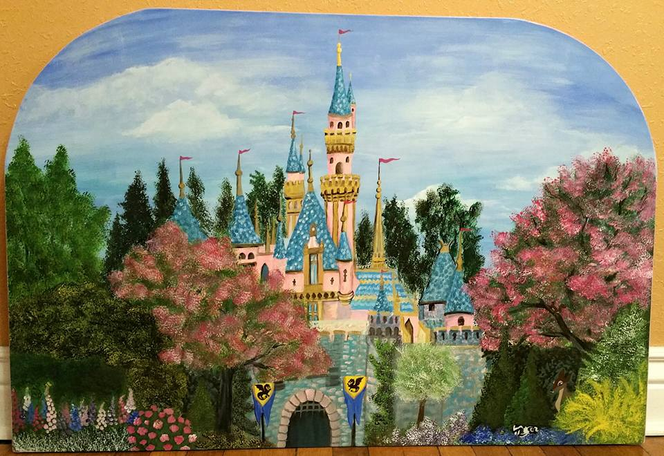 Sleeping Beauty's Castle (day)